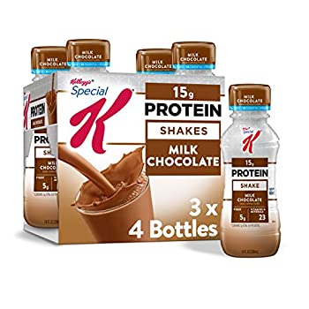 Kellogg s Special K Protein Shakes Milk Chocolate 40fl oz  3 Count