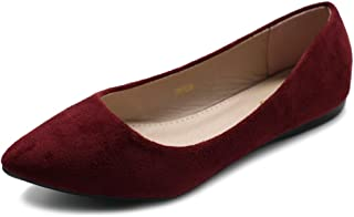 wine colored shoes