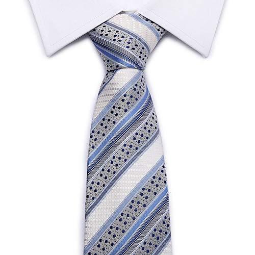 WOXHY Factory Seller 8Cm Cravatta Classica Da Uomo Jacquard