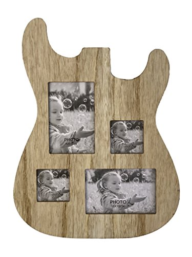 Guitar Shaped Picture Frame