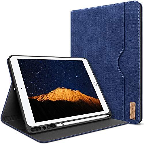 Funda para iPad de 10,2 pulgadas, funda de cuero para iPad d