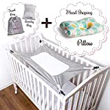 Baby Crib Hammock Mimics Womb - Newborn Sleeping Swing of Breathable, Soft Velvet Cotton. Enhances Baby's Comfort to Improve...