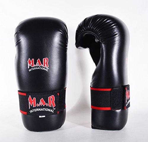 MAR Semi Contact Boxhandschuhe schwarz Kindergröße schwarz