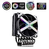 Supporta l'installazione rapida con socket AMD TR4 / AM4 e mainstream. È supportata la funzione Addressable RGB con controllo sincrono per l'illuminazione della scheda madre Il sistema di luce a scorrimento RGB da 16,7 M di colori con 5 effetti incor...