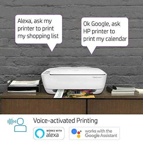 HP DeskJet 3636 All-in-One Ink Advantage Wireless Colour Printer with Voice-Activated Printing(Works with Amazon Alexa and Google Assistant)