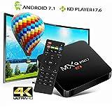 AUSHA Android TV Box 4K Ultra HD Smart Streaming Media Player Smart Box