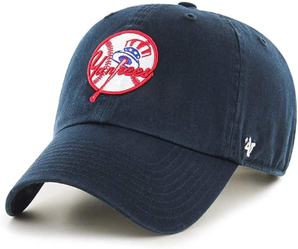 '47 New York Yankees Hat MLB Authentic Free shipping / New Cooperstown Logo Superlatite Cl Brand