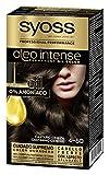 Syoss Oleo Intense - Tono 4-50 Castaño Ceniza – Coloración permanente sin amoníaco – Resultados de peluquería – Cobertura profesional de canas