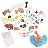 eZAKKA Kit de Accesorios Decorativos en miniatura para jardín con muñecos de hadas,...