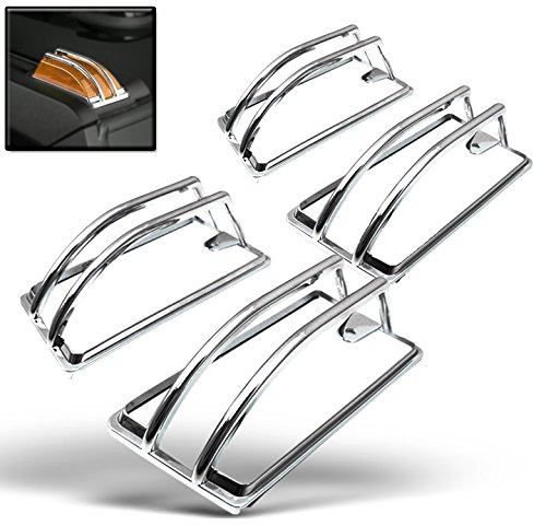 ZMAUTOPARTS Upper Roof Cab Light Lamp Cover Moulding Trim Chrome For 2003-2009 Hummer H2