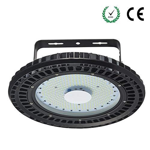 Sararoom 200w Lampada UFO LED Illuminazione da Industriale Faretto UFO Impermeabile IP65 6500k Bianco freddo Per Giardino Cortile Terrazza Piazza Fabbrica