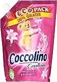 Coccolino - Ammorbidente Concentrato Creations, Fiori Di Tiarè e Frutti Rossi - 8 confezioni da 700 ml [5600 ml]
