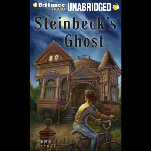 Steinbeck's Ghost audiobook cover art