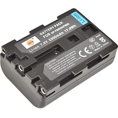 NP-FM50 NP-FM55H DSTE - Batería de repuesto para cámaras Sony NP-FM30, NP-FM51, CCD-TR108, TR208, TRV116, TRV118, TRV126, TRV128, TRV138