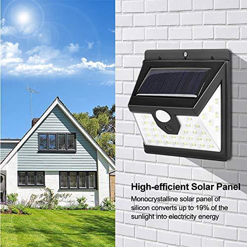 ACHICOO 40 LEDs Solar Power Sensor voor het menselijk lichaam IP65 buiten waterdichte wandlamp voor Garden Yard