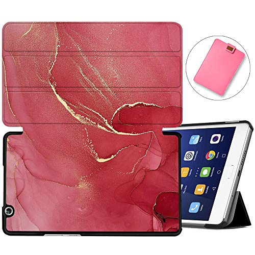 MAITTAO Stand Cover for Huawei MediaPad M3 8.4 Case BTV-W09/BTV-DL09, Slim Leather Folio Smart-Shell with Auto Wake/Sleep for MediaPad M3 8.4 inch 2016 Release Android Tablet, Marble 13