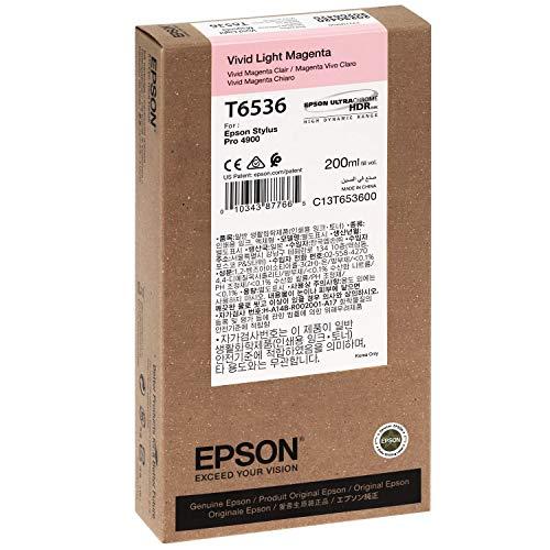 Epson UltraChrome HDR Ink Cartridge - 200ml Vivid Light Magenta (T653600)
