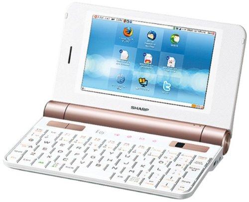 SHARP Net Walker 5インチ モバイルインターネットツール ホワイト系 PC-Z1-W