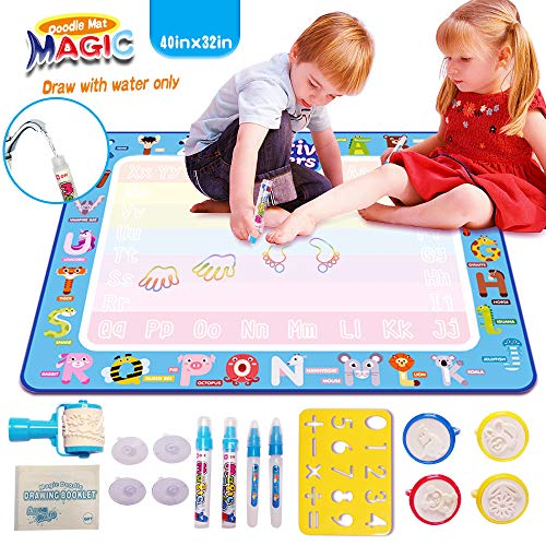 AVstart Drawing Mat Large, 40 x 32 Inch Water Doodle Mat review