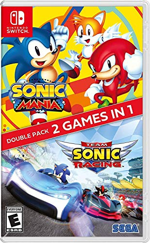 Sonic Mania + Team Sonic Racing Double Pack for Nintendo Switch [USA]