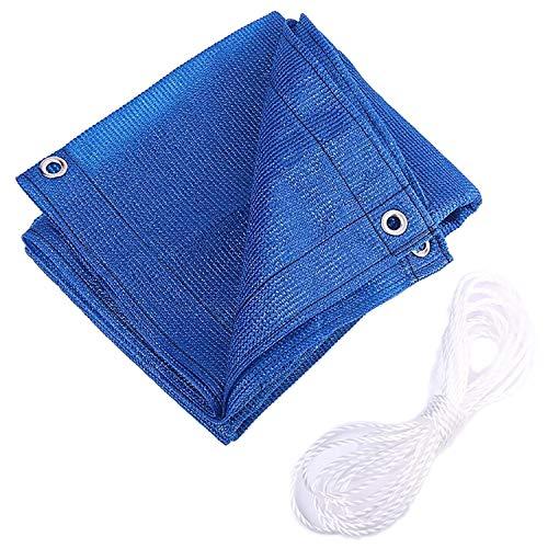 Schaduw Stof 95% UV Bescherming Schaduw Doek Geplakt Rand Met Grommets Voor Pergola Cover Luifel Blue-9.9x13.2ft/3x4m