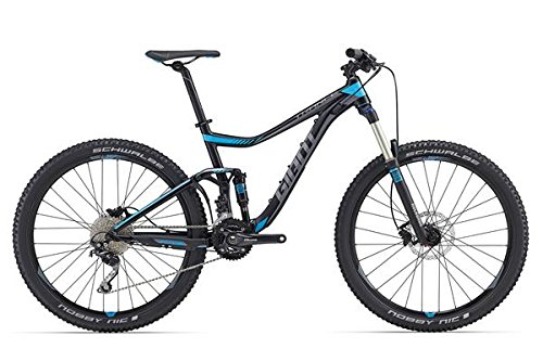 Giant Trance 3 27, 5 pulgadas Mountain Bike Negro/Azul (2016)