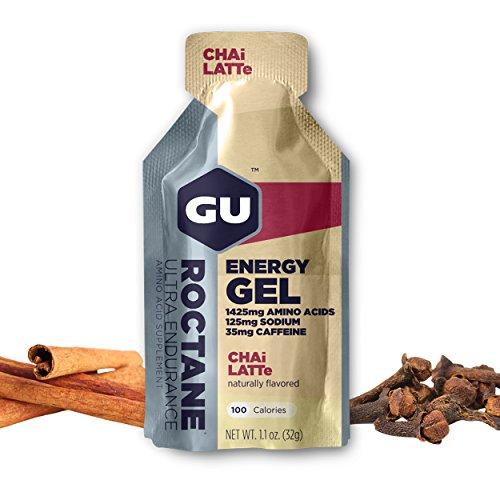 Gu Roctane Ultra Endurance Energy Gel Chai Latte 24 pckts