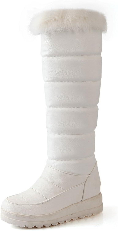 A&N - Stivali da Neve donna, bianco (bianca), 35 EU
