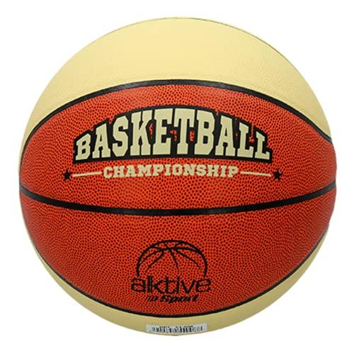 TIENDA EURASIA Balon de Baloncesto de PVC - Pelota Basket (Championship Talla 5)