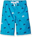 Kanu Surf Boys' Little Viper Quick Dry UPF 50+ Beach Swim Trunk, Terrapin Aqua, 7