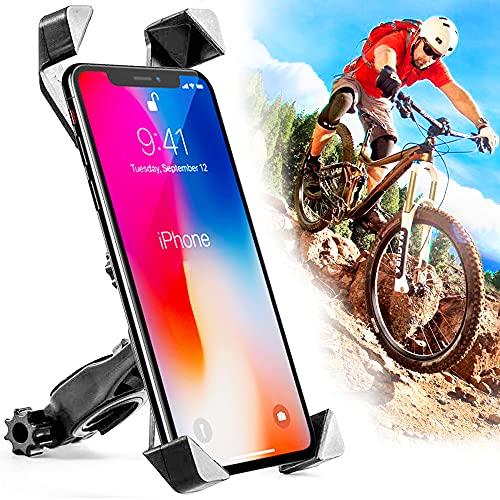MAVE - Robust-Starke Handyhalterung Fahrrad, Perfekte Anti-Shake Fahrrad Handyhalterung für deinen Fahrradlenker, Smartphone und iPhone Kompatibel bis 7,2 Zoll Displaygröße, 360 Grad Drehbar