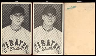 1936 Goudey R314 wide pen type 1 (Baseball) Card# 7 cy blanton/portrait of the Pittsburgh Pirates VG Condition