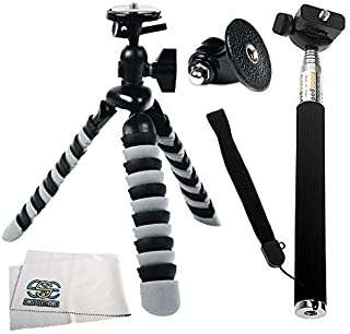 HERO3 Tripod//Monopod Mount for GOPRO HERO1 SSE Handheld Camera Extender Mount Pole//Handle Bar HERO3+ HERO2