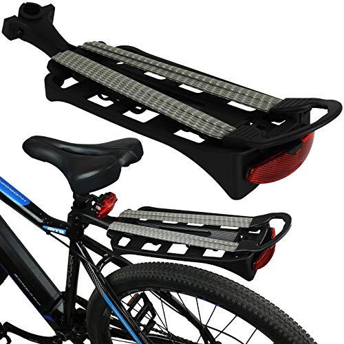BJYX Fahrradgepäckträger Fahrrad Gepäckträger MTB Rad Spanngurt Sattelstütze Montage