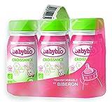 Babybio Lait Croissance Liquide - 3ème âge dès 10 Mois - 6x25Cl - BIO...
