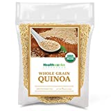 Healthworks Quinoa White Whole Grain Raw Organic (80 Ounces / 5...