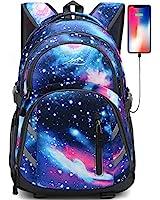 Galaxy Backpack Bookbag for Sc...