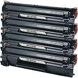 D & C tóner a HP cf279a/79a Black para HP Laserjet Pro M 12, Laserjet Pro M 12A, Laserjet Pro M 12W, Laserjet Pro M 26A, Laserjet Pro M 26NW 4 Toner