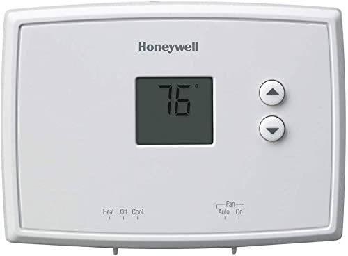 """lowest Honeywell outlet sale Rth111b1024 4-3/4"""" new arrival X 3-3/8"""" X 1-1/8"""" White Digital Non-Programmable Thermostat online"""
