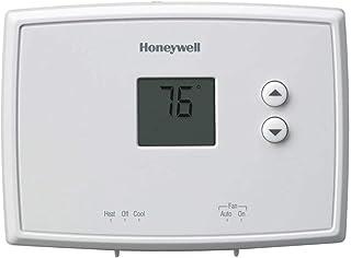 "Honeywell Rth111b1024 4-3/4"" X 3-3/8"" X 1-1/8"" White Digital Non-Programmable Thermostat"