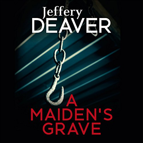 A Maiden's Grave audiobook cover art