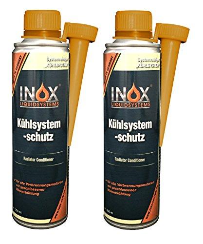 INOX® Kühlsystem Schutz Additiv, 2 x 250ml - Kühlerschutz Zusatz für alle Verbrennungsmotoren mit Wasserkühlung geeignet