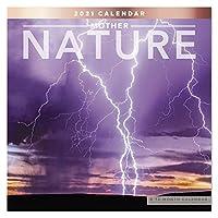 2021 Mother Nature 壁カレンダー 12インチ x 12インチ マンスリー (LME2091021)