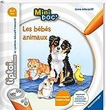Ravensburger - Livre interactif tiptoi Mini Doc' - Les bébés animaux - Jeux électroniques éducatifs sans écran en français - Enfants à partir de 4 ans - 0072