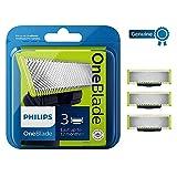 Philips QP230/50 OneBlade Lama di Ricambio, Confezione da 3 Pezzi