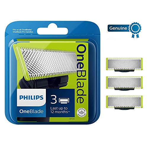 Philips OneBlade Replacement Blade - Pack of 3 (1 Year Supply) - QP230/50