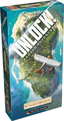 Space Cowboys SCOD0026 Unlock-Die Insel des Dr. Goorse (Einzelszenario), Mehrfarbig, bunt