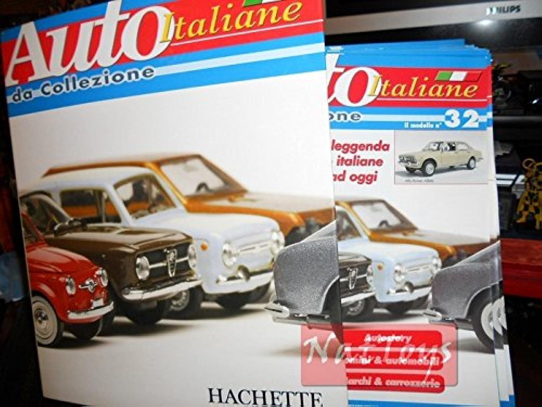 EDICOLA Auto Italiane Hachette 72 Fascicoli Collezione De Agostini Compatibile con