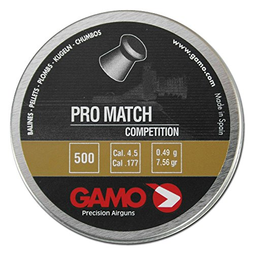 Gamo Diabolos Pro-Match glatt 4,5 mm