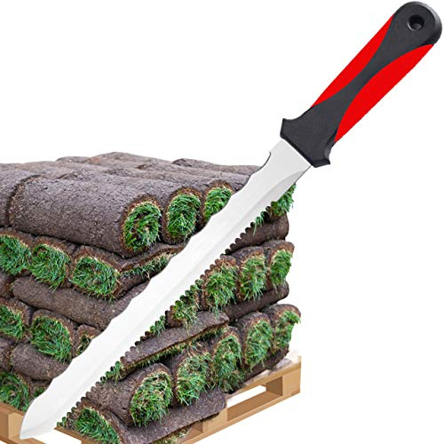 Keyfit Tools SOD Knife Stainless Steel Blade Sod Cutter Trim New sod Around Landscape Edging...